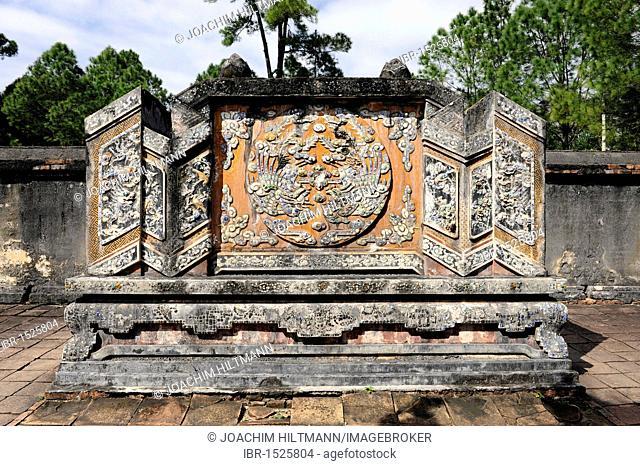 Mausoleum of the Emperor Tu Doc, Hue, North Vietnam, Vietnam, Southeast Asia, Asia