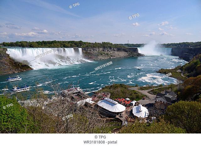 spot- Niagara Falls (including night view)