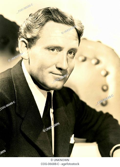 The American actor Spencer Tracy