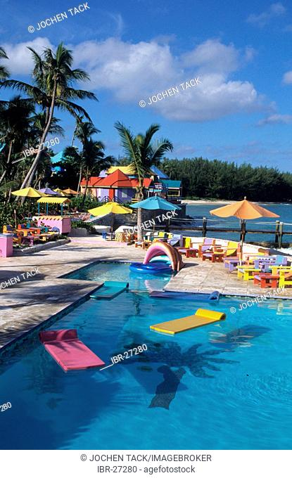 BHS, Bahamas, New Povidence, Nassau: Compass Point Hotel and resort. Independent state in the West Indies, member of Comonwealth of Nations