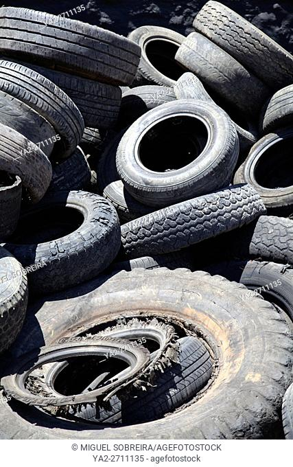 Used Rubber Tyres