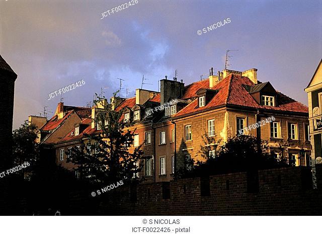 Poland, Warsaw, old city