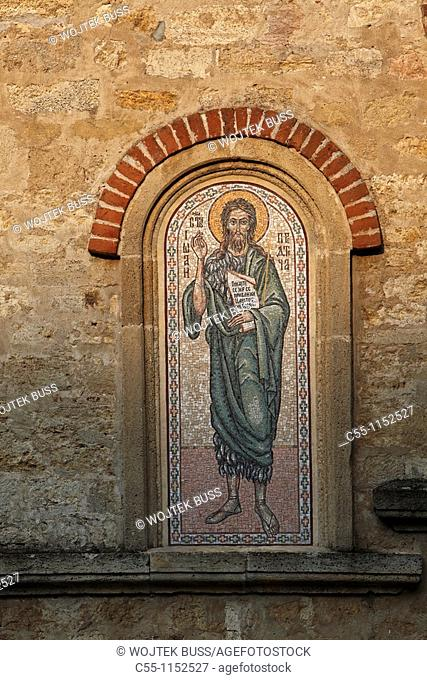 Serbia,Koporin Monastery,Church of St Stephen,end of 13th century,founded by Despot Stefan Lazarevi,Orthodox,christian,religious,exterior,outside,facade,colour