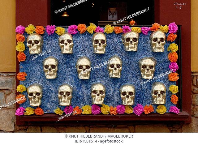 Decoration for the Day of the Dead, Oaxaca de Juárez, Oaxaca, Mexico, Central America