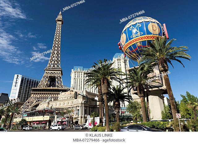 USA, Southwest, Nevada, Las Vegas Strip, Hotel 'Paris'
