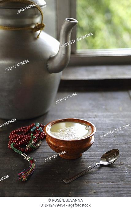 Butter tea from Tibet