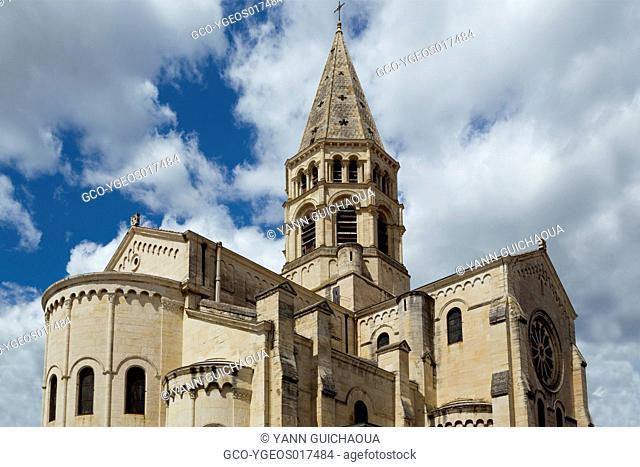 The Saint Paul church, Nimes, Gard, France