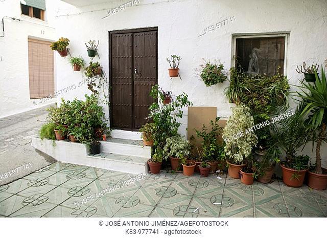 Los Guajares, Granada province, Andalusia, Spain