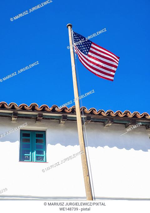Mission Santa Barbara is a Spanish mission founded by the Franciscan order near present-day Santa Barbara, California