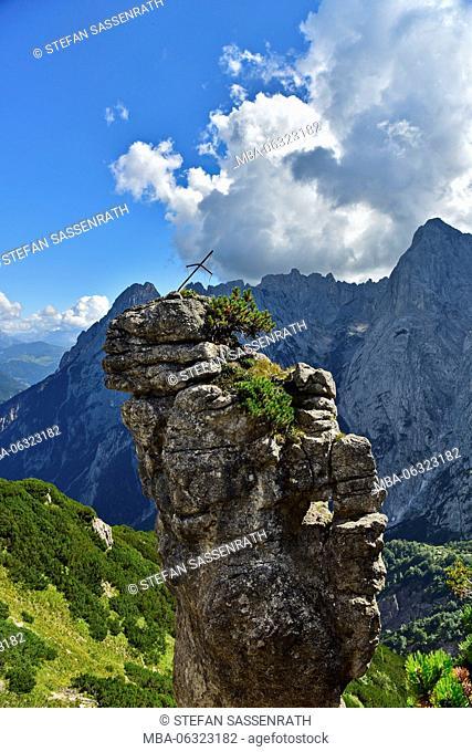 Rock sculpture at Feldberg montain