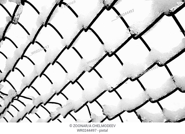 Netting White Snow Stock Photos And Images