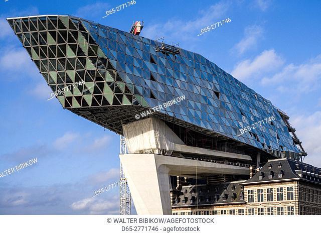 Belgium, Antwerp, new Antwerp Port Authority building, Zaha Hadid, architect
