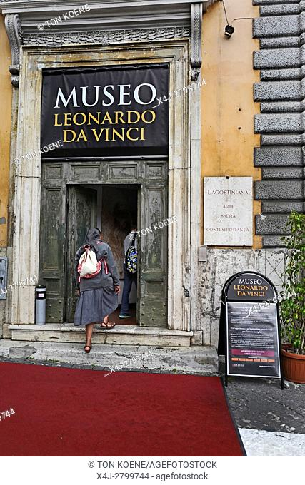 leonardo Da vinci museum in rome