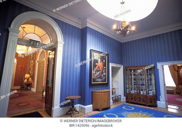 Inside Dublin Castle, Dublin, Ireland, Europe