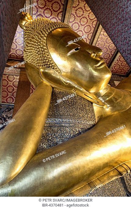 Temple of the Reclining Buddha, Wat Pho or Wat Po, Bangkok, Thailand