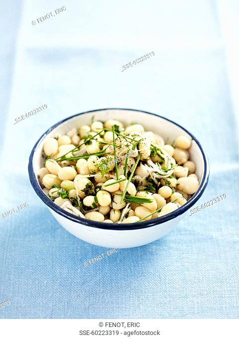 Paimpol haricot bean salad