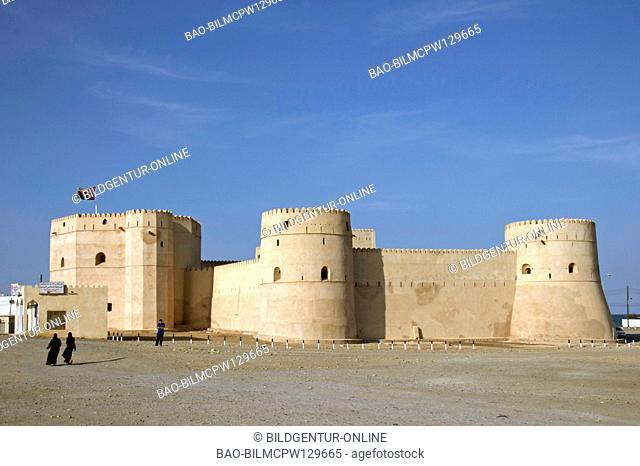 Oman the fort in Barka, fort of Barka