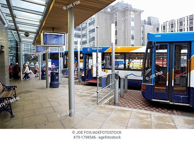 aberdeen bus station scotland uk