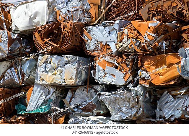 Recycling metal scrap