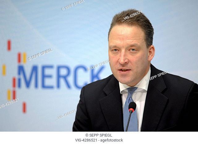Matthias ZACHERT, Financial Officer of the Merck KGaA - DARMSTADT, Germany, 06/03/2014