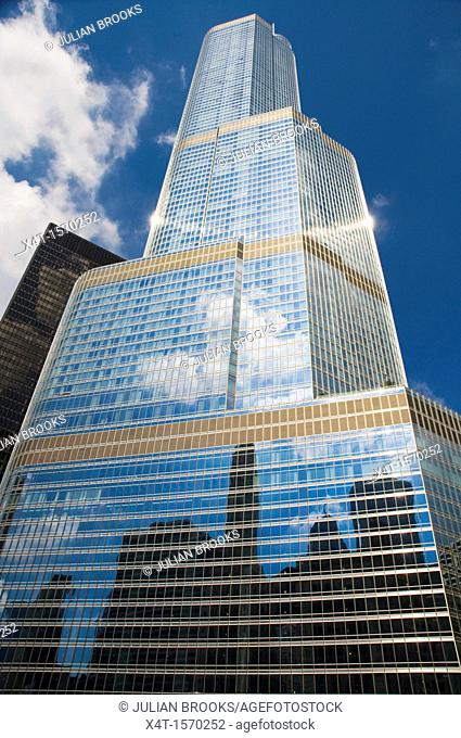 the Trump Internation Hotel and Tower in Chicago
