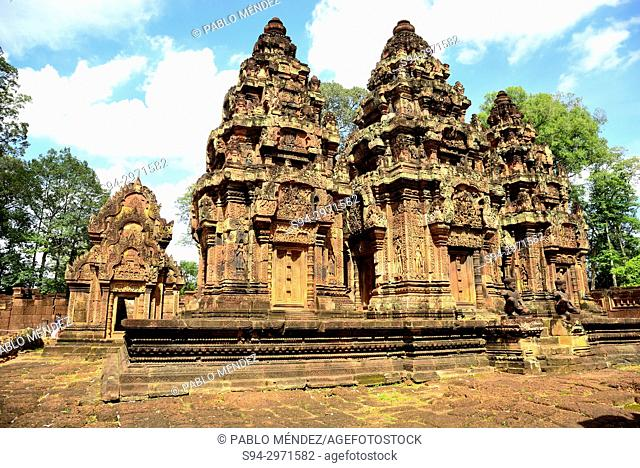 Banteay Srei (Temple of Women) in Angkor area, Cambodia