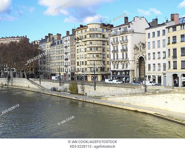 Quai Saint-Vincent, Lyon, France