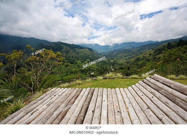 Colombia, Quindio department, Salento, landscape