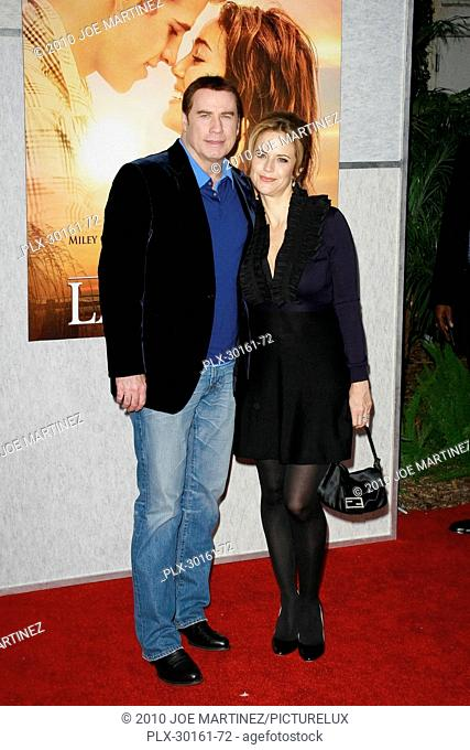 John Travolta and Kelly Preston at the World Premiere of Touchstone Pictures' The Last Song. Arrivals held at Arclight Hollywood Cinema in Hollywood CA