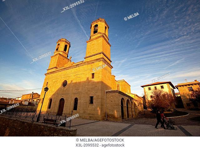 Barasoain church, Valdorba. Navarre.Spain