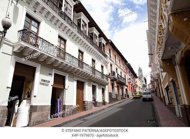 Quito, Old City, Ecuador