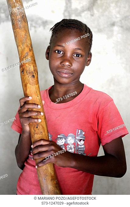 Girl from Maputo, Mozambique