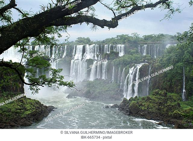 Iguazu Waterfalls, Brazil/Argentina