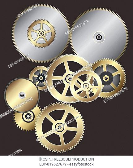 Watch mechanism gear Stock Photos and Images | age fotostock