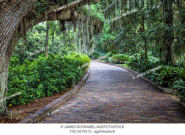 Alfred B. Maclay Gardens State Park also a U. S. historic district known as the Killearn Plantation Archeological and Historic District in Tallahassee Florida