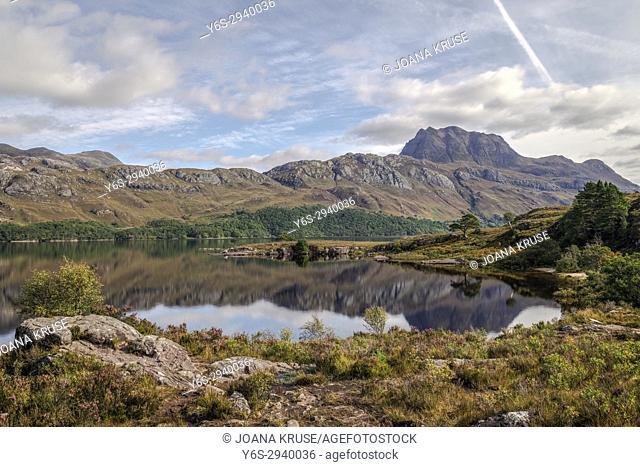 Loch Marree, Wester Ross, Northwest Highlands, Scotland, United Kingdom