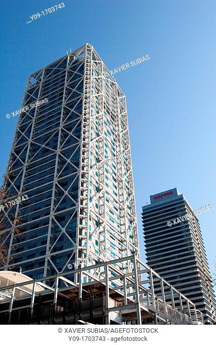 Hotel Arts and Torre Mapfre, Barcelona, Spain