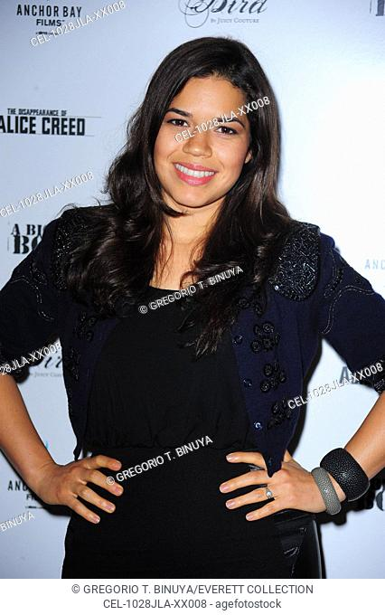 America Ferrera at arrivals for THE DISAPPEARANCE OF ALICE CREED Special Screening, The Crosby Street Hotel, New York, NY July 28, 2010