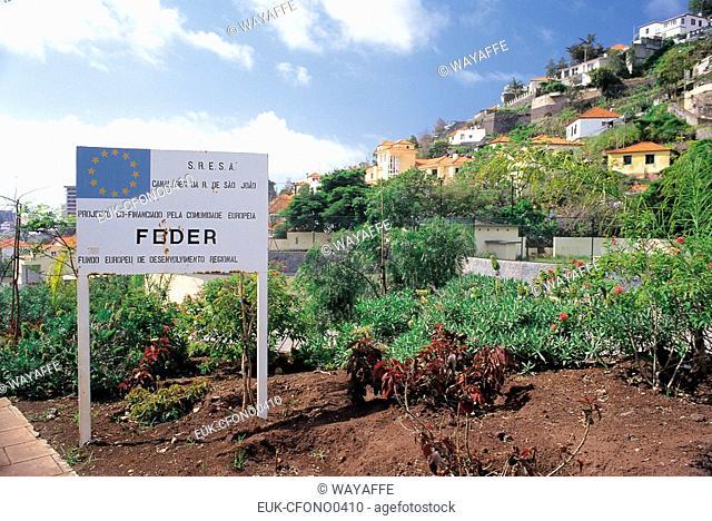 FEDER european fund Madeira Port