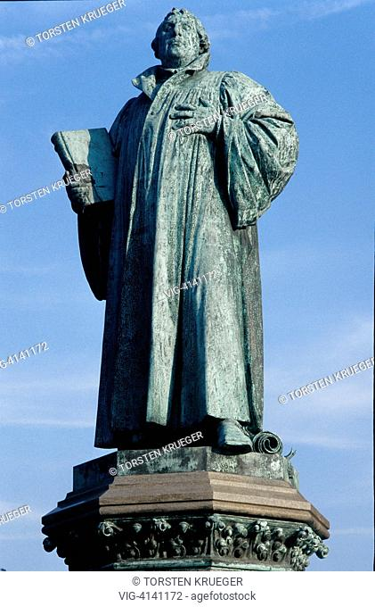 Germany, Magdeburg : Martin-Luther-Denkmal
