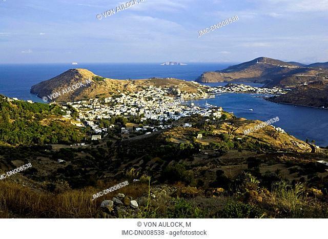 Greece, Dodecanese, Patmos, Skala