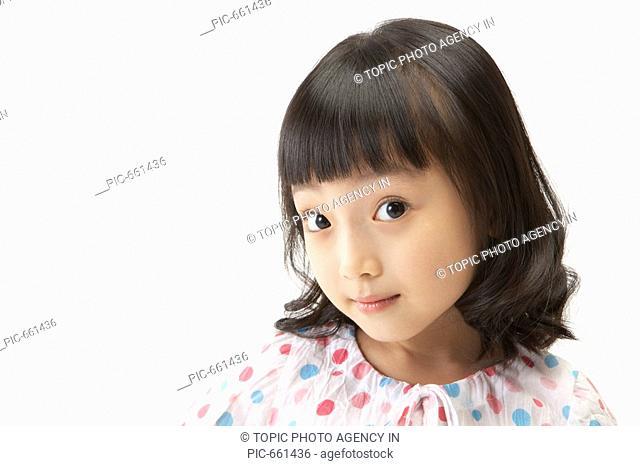 Korean Girl Smiling