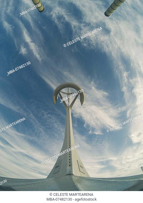 Olympic stadium LLuis Companys in Barcelona