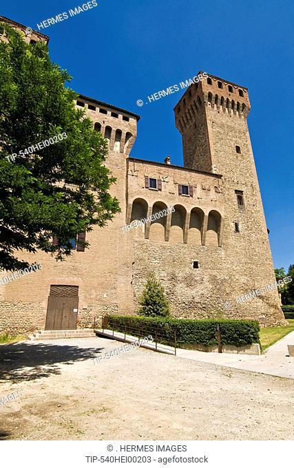 Italy, Emilia Romagna, Vignola, the Castle