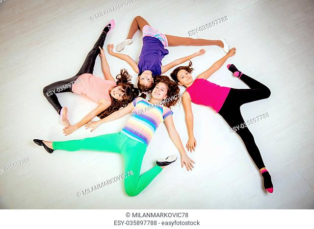Young Female Dancers