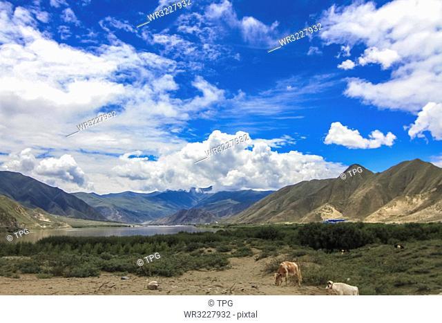 Sky;Tibet; China