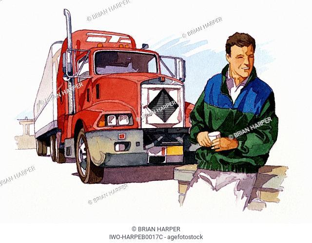 Mac Truck Driver