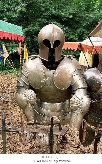 Knight's armour medieval spectaculum Dortmund North Rhine-Westphalia Germany