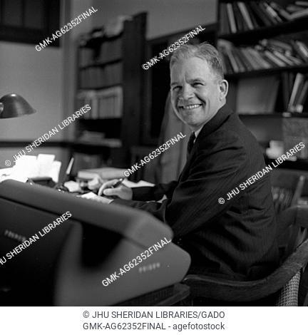 Clarence Dickinson Long, Jr, 1959