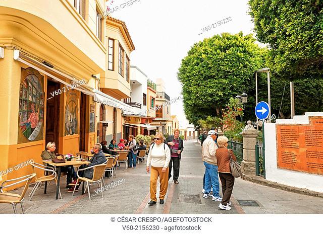 -Agüimes Village- Canary Island Spain